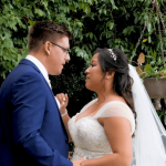Charisa and Glen have a countryside wedding. Wedding videography by Floating Castle Films.